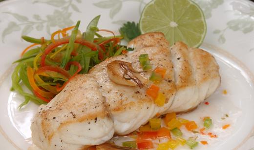 Naples Fishing Recipes: Key Lime Butter Grilled Grouper