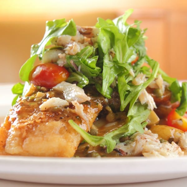 Naples Fishing Recipes: Delmonico's Pan Sautéed Drum Meuniere