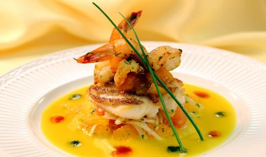 Naples Fishing Recipes: Crispy Pan Seared Florida Snapper with Passion Fruit Cream